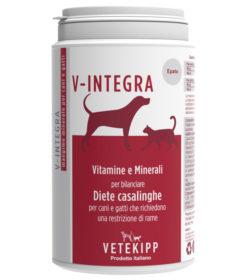 Integratore di vitamine e minerali per cani e gatti che richiedono una restrizione di rame.
