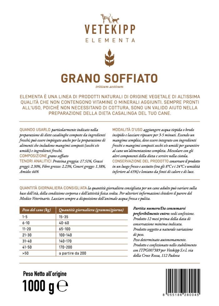 indicazioni grano soffiato