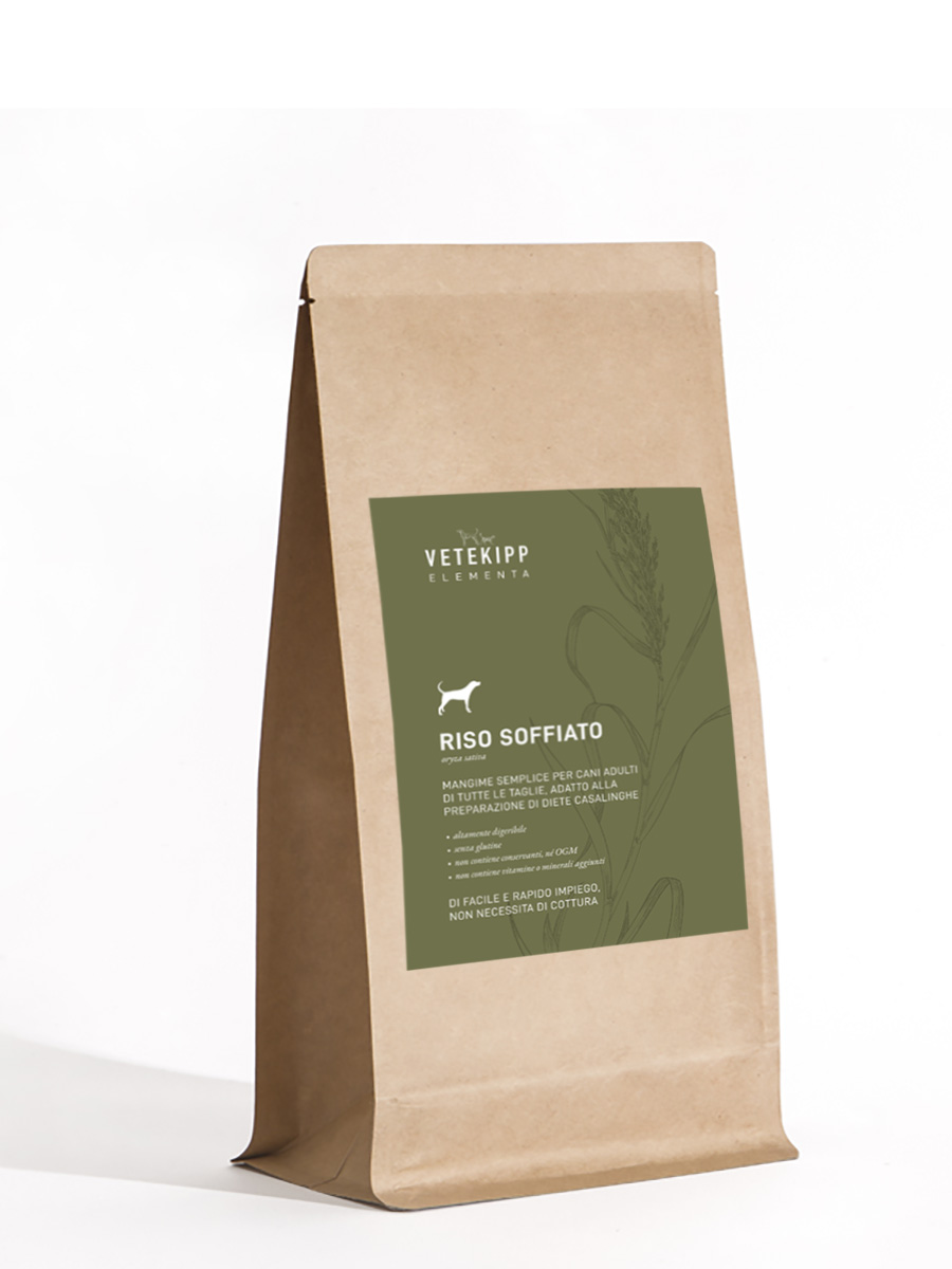 Riso soffiato packaging